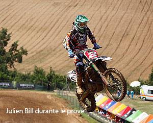 Julien Bill favorito per il Mondiale Cross MX3